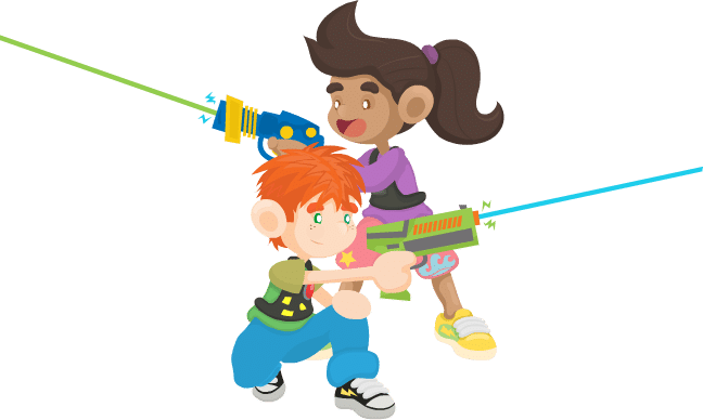 destin laser tag celebrate your birthday party with us Grop Quest Laser Quest Clip Art