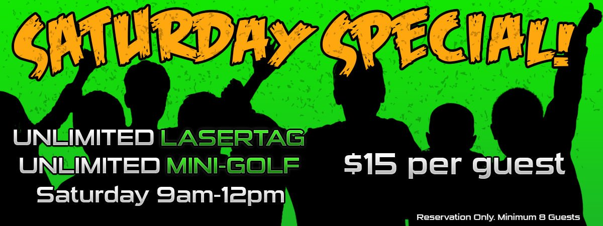 Destin Laser Tag - Saturday Special Event